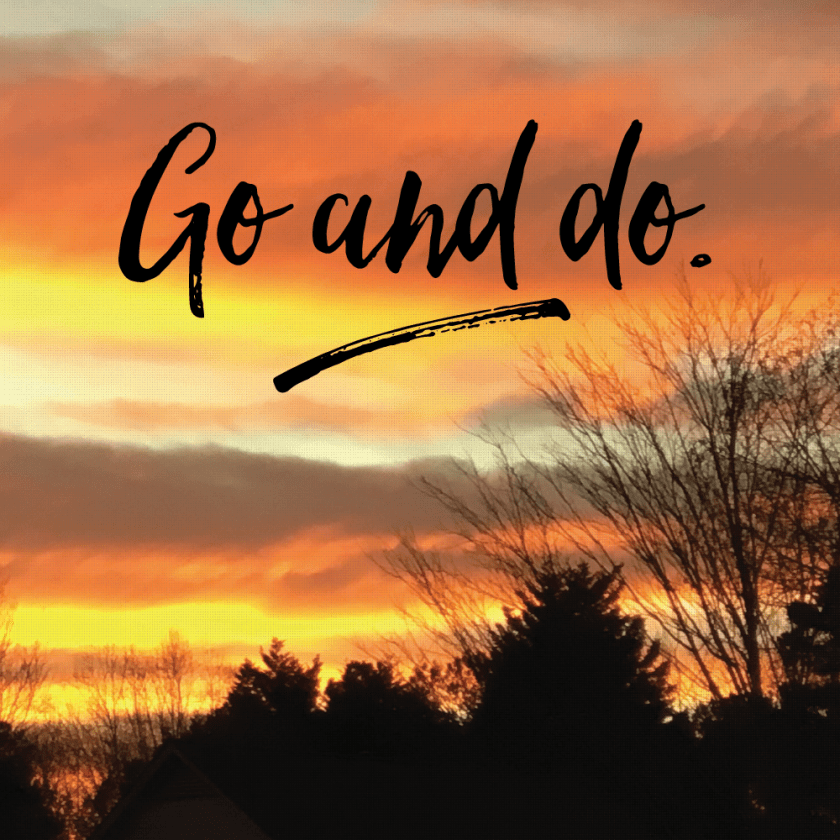 Go and do | Angie Webb Creative