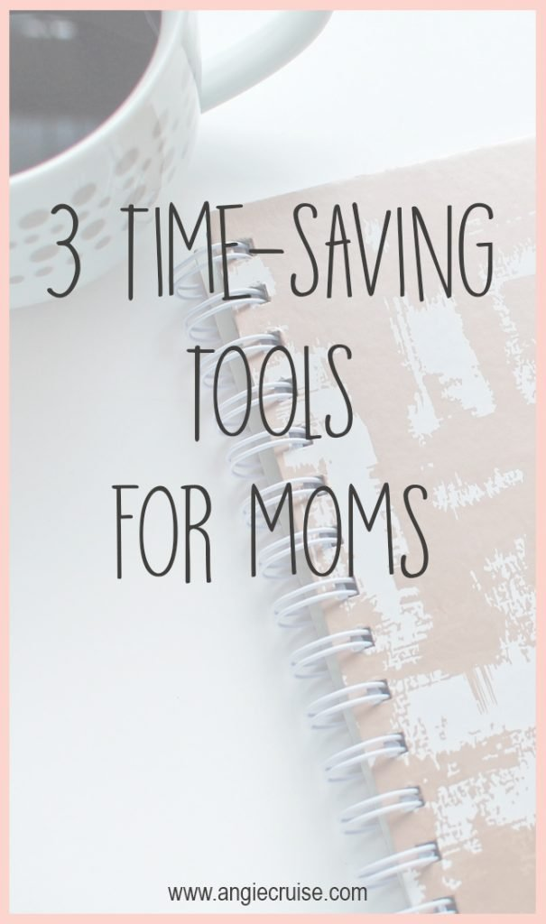 I'm going to share my three favorite time saving tools with you today. If you'd like to send a little less time on chores, be sure to check these out!