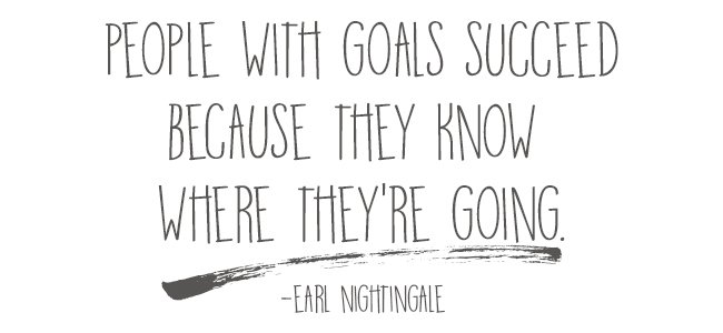 Set Goals to Succeed