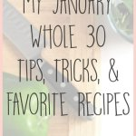 My January Whole 30 Tips, Recipes, And a Free Printable!