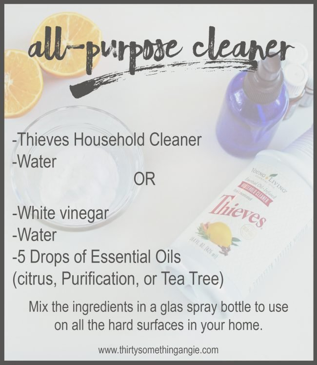 DIY Cleaning Recipe: All Purpose Cleaner