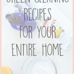 DIY Cleaning Recipes for Your Entire Home