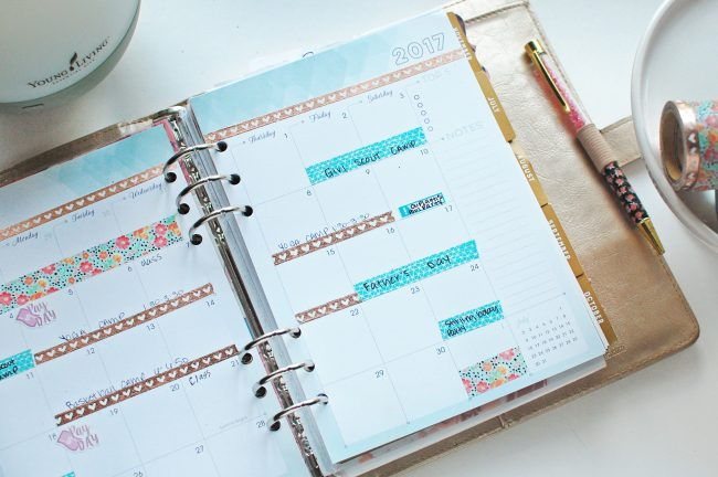 View my simple monthly planning process that helps me keep my entire life organized.