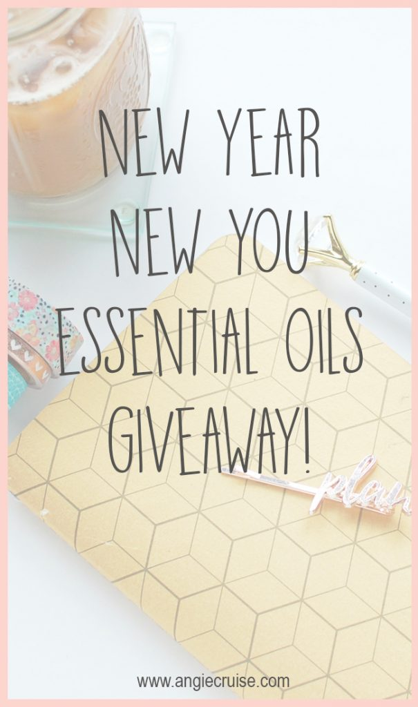 Looking to get started with essential oils in 2018? I'm giving away an amazing beginner's basket to one lucky person in January!
