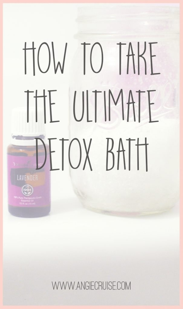 This past November, I decided to give a detox bath a try. I'd been feeling under the weather, and kept hearing about all of the amazing benefits online.