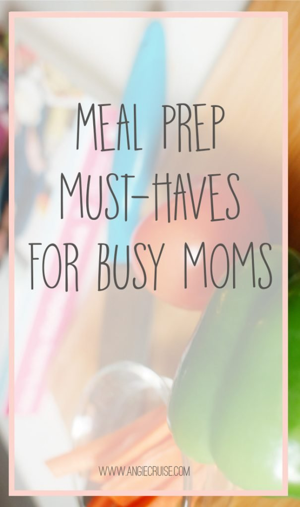 "I have spent most of my adult life saying that meal prep days are more trouble than they're worth.  Then, I kind of ""fell into"" the task of meal prep days on accident. I'm sharing my favorite meal prep must-have tools on the blog to help make the process easier for you, too!"