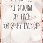 My Simple, All Natural Stinky Laundry Hack