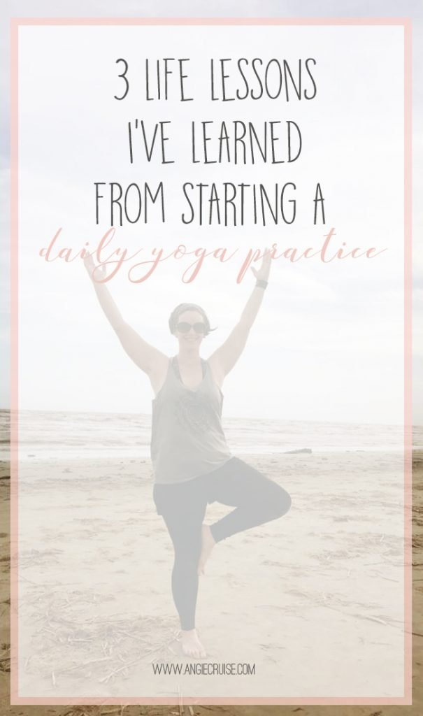 Well, I finally did it! I've been practicing yoga for about 2 years now, and never once have I been able to maintain a daily yoga practice. Yesterday, I realized I'd practiced yoga every single day for a full month. I can't believe it! I thought I'd write a post to celebrate and share what I've learned in the process.