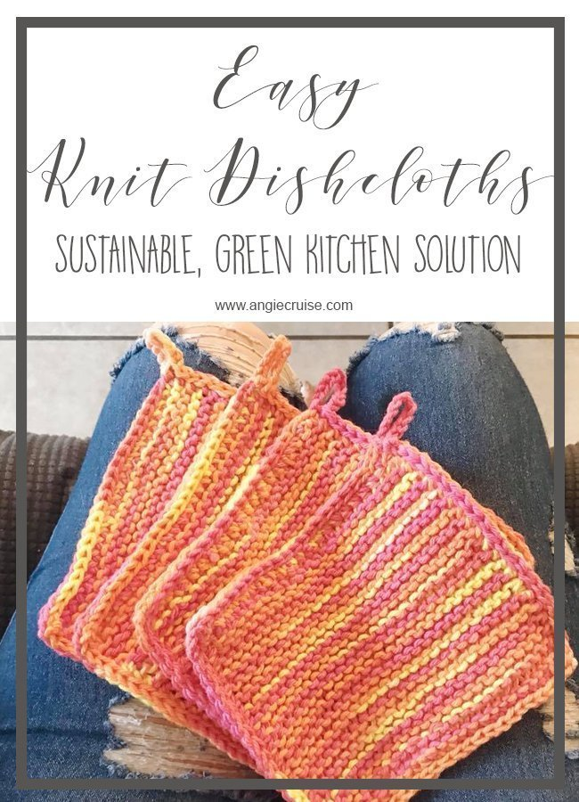 Easy Knit Dishcloths: Free Knitting Pattern