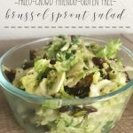 Easy Brussel Sprout Salad Recipe