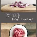 Homemade Pickled Red Onions