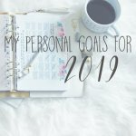 My Personal Goals for 2019