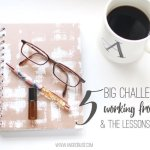 5 Big Challenges of Working from Home: The Struggles I've Faced and the Lessons I've Learned Along the Way