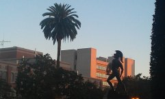 USC campus. Photo by Richard Sutton