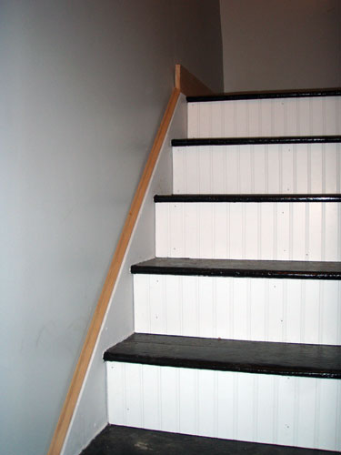 Bead Board Staircase Risers Angie S Roost