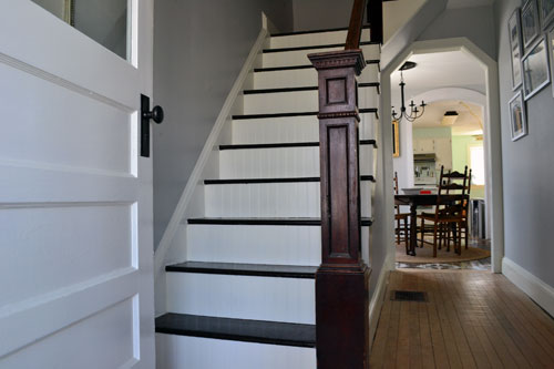 Painted Staircase Trim