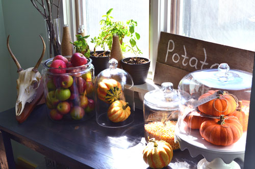 Fall Harvest Mantle