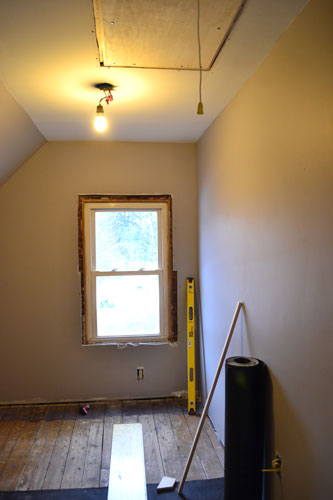 Installed Attic Stairs