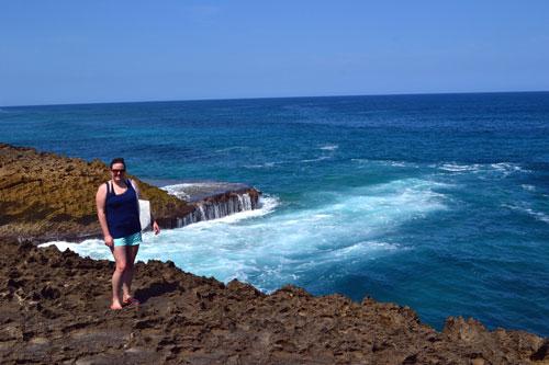 Jobos Beach Cliffs Puerto Rico