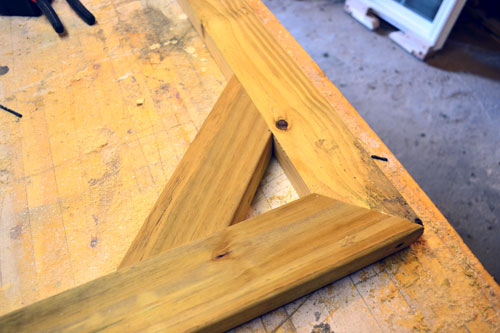Fence Gate Frame Bracing