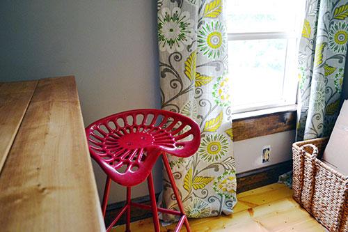 Etsy Office Curtain Fabric
