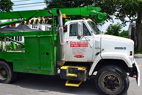 Granite Removal Truck