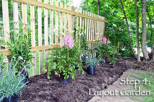 Step 4: Layout Garden