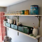 Installing Work Space Shelves