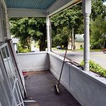 Removing Porch Windows For Restoration