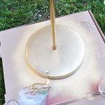 Touching Up Brass Lamp Finish With Paint