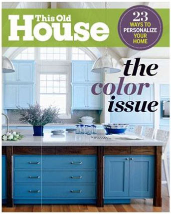 This Old House September 2013 Cover