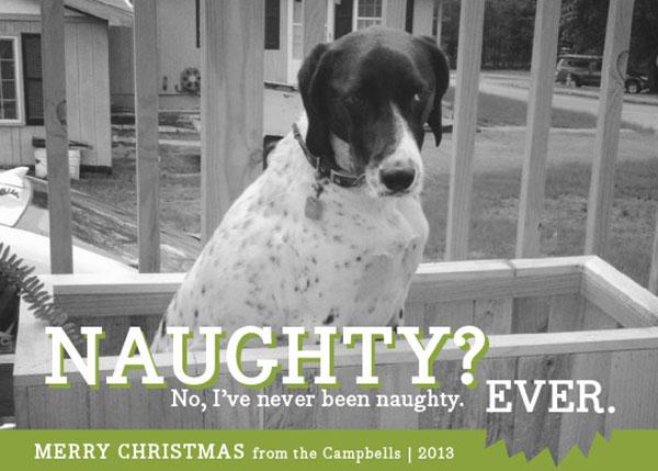 Campbell Family Christmas Card Alternative 2