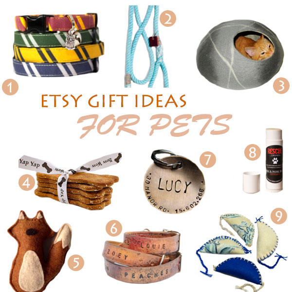 Etsy Gift Ideas For Pets 2013