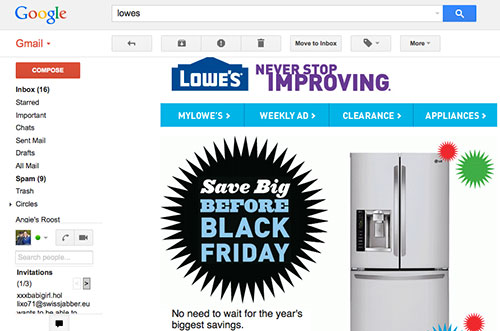 Lowes Black Friday Appliance Sale