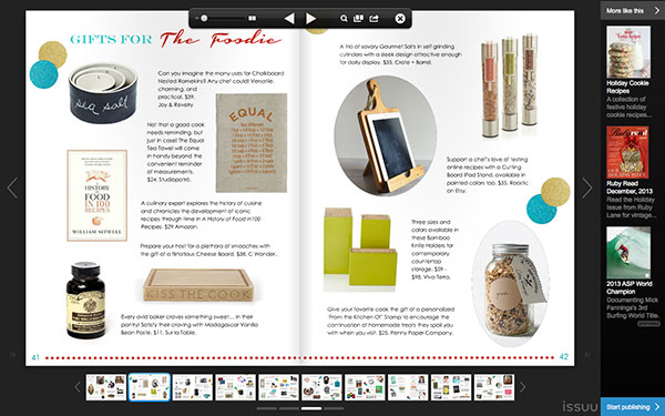 Roostic iPad Stand Featured In Centsational Girl Gift Guide 2013
