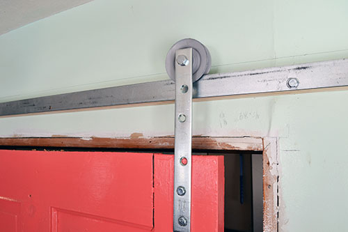 Coral Barn Door Track And Hardware