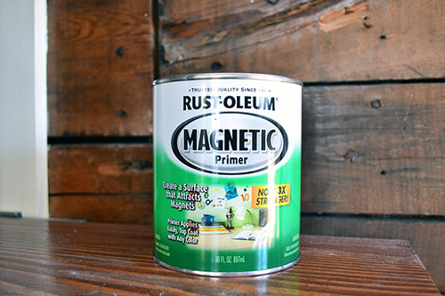 Rustoleum Magnetic Paint