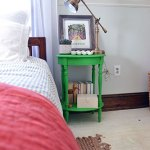 Chalk Painting Nightstands Green