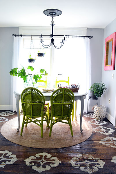 Lime Dining Room Chairs
