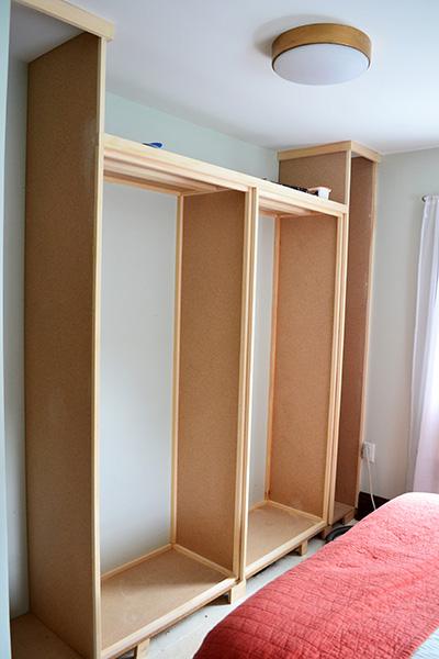 DIY Master Closet Building