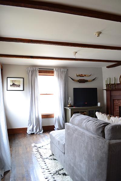 Living Room Painted Benjamin Moore Rodeo Angies Roost