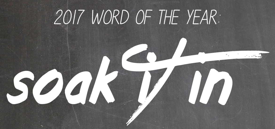 Word Of The Year 2017 Soak It In Featured Image