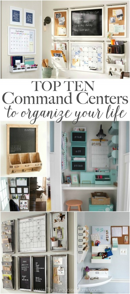 10 Family Command Centers - The Turquoise Home