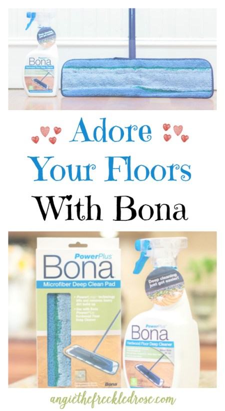 Adore Your Floors With Bona | angiethefreckledrose.com