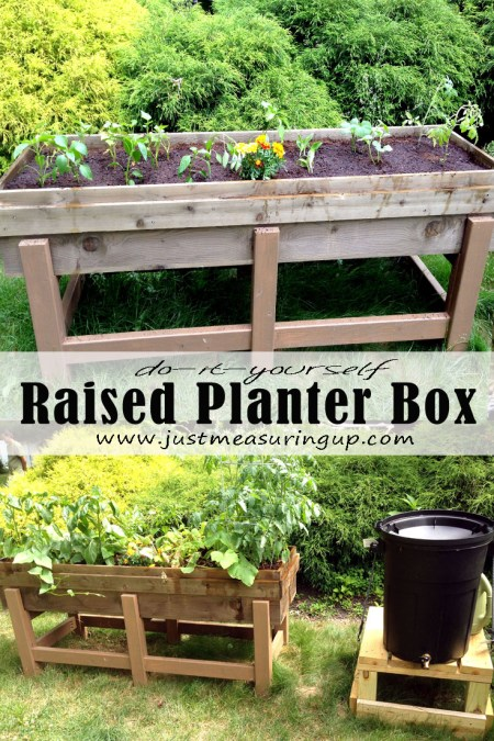 DIY Planter Box for the Garden - Just Measuring Up