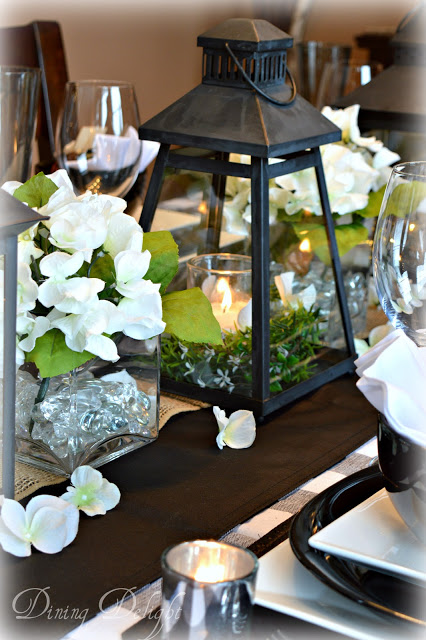 Buffalo Checks Tablescape - The Dining Delight