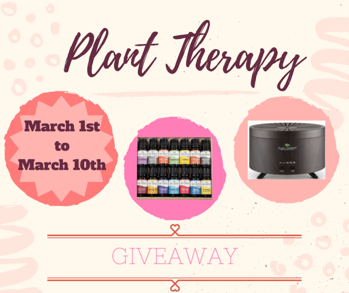 Plant Therapy Giveaway!
