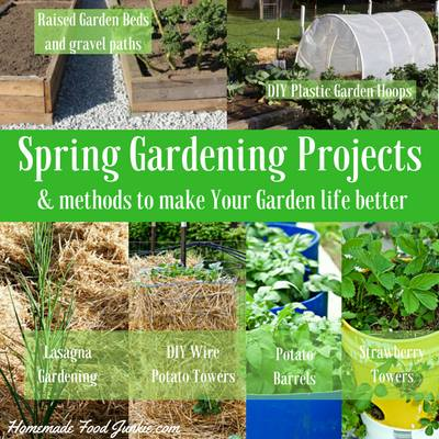 Spring Gardening Projects & methods to make your garden life better