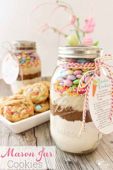 Easter Mason Jar Cookie Recipe - The Real Thing with the Coake Family