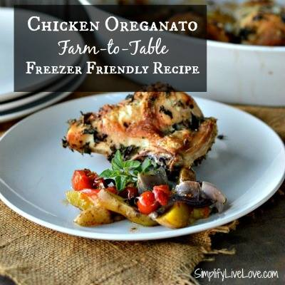 Chicken Oreganato Recipe - SimplifyLiveLove
